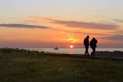 Iles de gl nan bertrand rieger photographe reportage - L heure du coucher du soleil aujourd hui ...